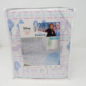Disney Jumping Bean Frozen II flannel sheet set